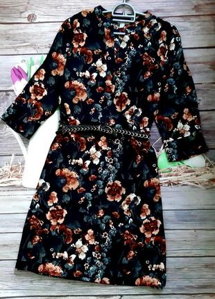 Мега стильное платье миди