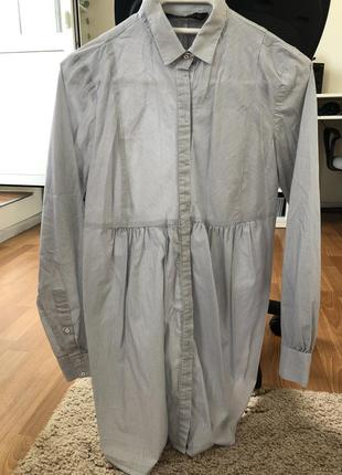 Zara рубашка туника