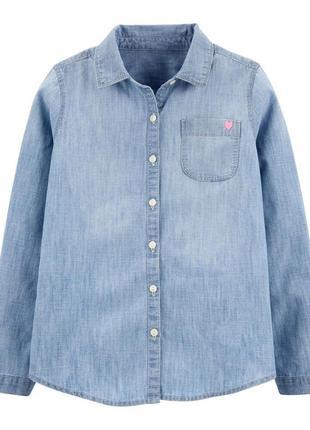 Джинсова сорочка від oshkosh