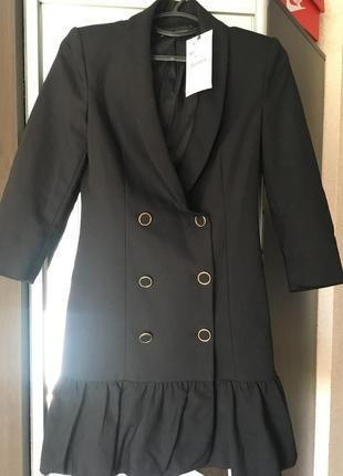 Платье пиджак zara