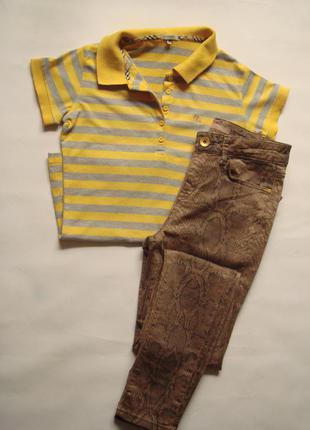 Cтильные джинсы скинни под питона saint tropez