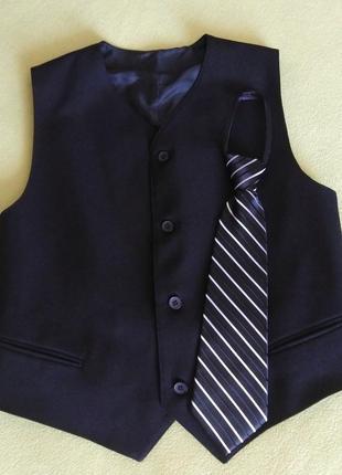 Жилет+галстук