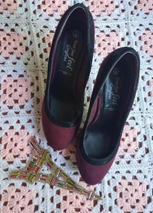 Женские туфли # замшевые туфли # туфли замш # туфли # new look