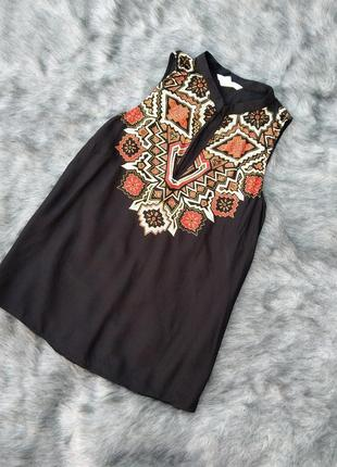 Блуза топ кофточка из натуральной вискозы h&m