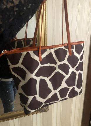 Красивая сумка с принтом