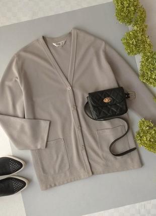 Кардиган серый от tigi wear р. 22