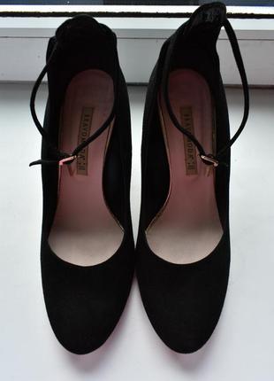 Зручні класичні туфлі з натуральної замші