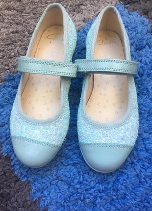 Фирменные балетки туфельки clarks