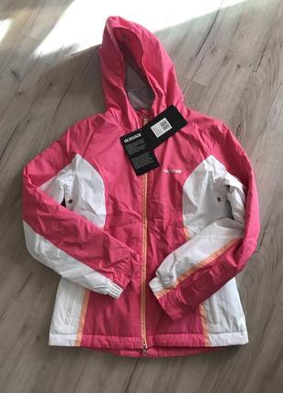 Утепленная горнолыжная куртка