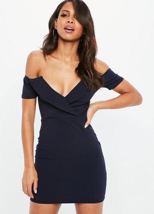 Платье с воротником на короткий рукав