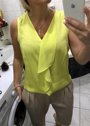 Блуза канареечного цвета , ann weyburn la redoute