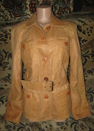 Модная фирменая куртка из кожи овечки