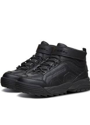 Оригинальные детские ботинки skechers hypno flash 2.0 (660046l bbk)1 фото