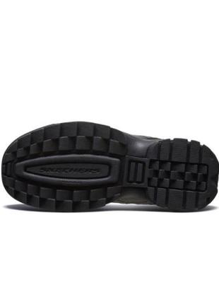 Оригинальные детские ботинки skechers hypno flash 2.0 (660046l bbk)5 фото