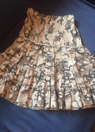 Супер юбочка в стиле миллитери от blend she