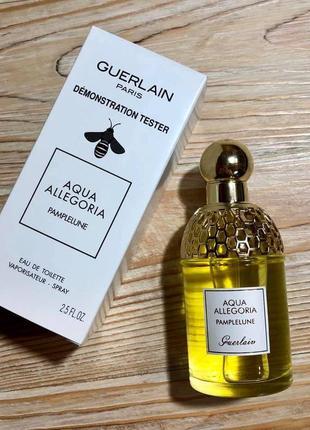 Guerlain aqua allegoria pamplelune,75 мл, тестер, цитрусовые