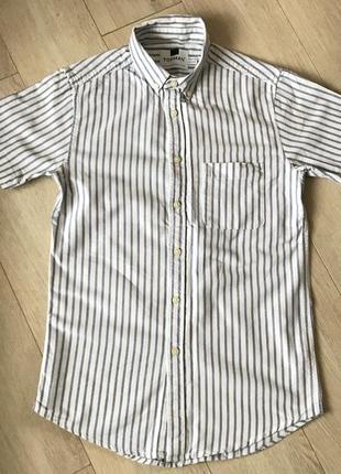 Тениска topman zara h&m рубашка в полоску