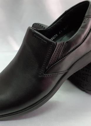 Скидка!комфортные кожаные осенние-весенние туфли bertoni 40-45р.