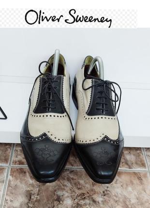 Oliver sweeney туфли броги  из натуральной кожи