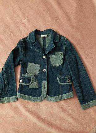 Джинсовый пиджак, джинсовая куртка