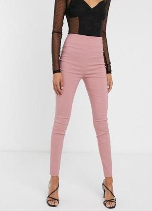 🎁1+1=3 идеальные зауженные узкие джинсы джеггинсы высокая посадка pieces, размер 48 - 50