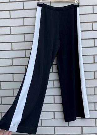 Трикотаж,широкие штаны,брюки,палаццо,кюлоты с лампасами италия