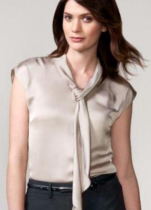 Блуза с шарфом biz collection