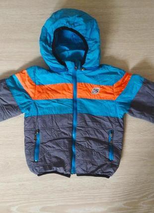 Демісезонна курточка для хлопчика 3-4 рочки