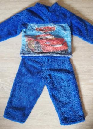 Тепленька піжамка для хлопчика 1,5-2 рочки