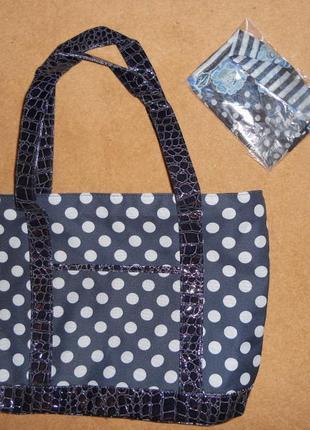 Красивая сумка+платок в подарок