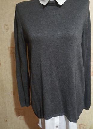 Свитер рубашка 2 в 1