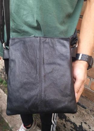 Кожаная сумка ручной работы