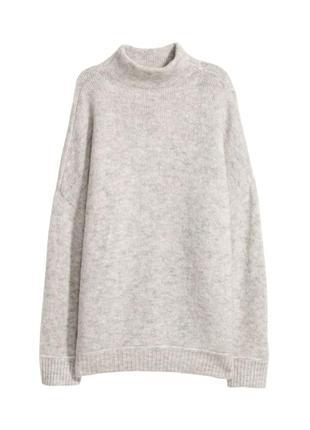 Джемпер свитер из смесовой шерсти h&m