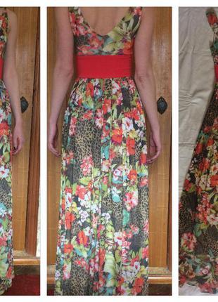 Красивое платье - сарафан размера  s sogo