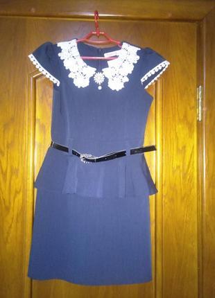 Платье сарафан школьный для девочки