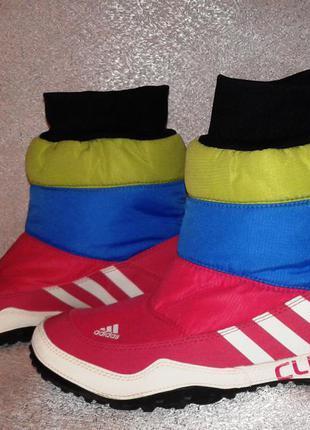 Зимние сапожки adidas climawarm