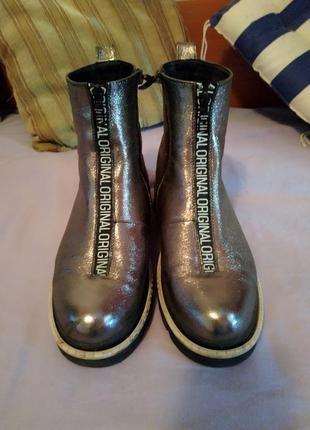 Ботинки натуральная кожа!!!