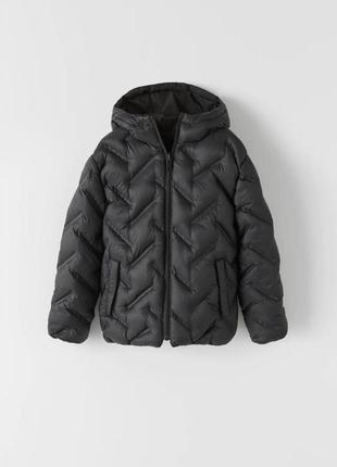 Легка двостороння стьобана куртка, zara, оригінал, з німеччини!