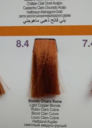 Краски для волос светлые
