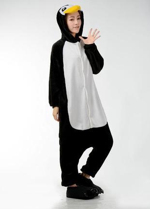Кигуруми пингвин взрослый костюм l