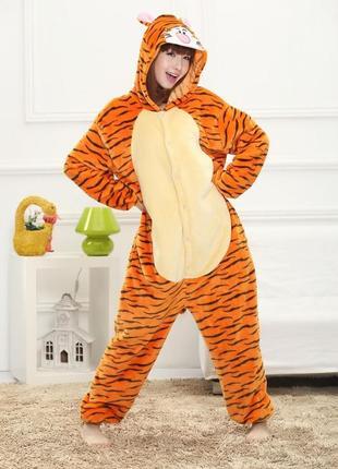 Кигуруми тигр дисней костюм взрослый унисекс