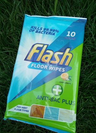 Антибактериальные универсальные чистящие салфетки