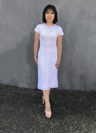 Вязаное платье! ручная работа