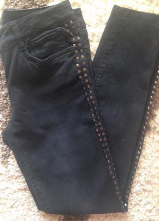 Marc aurel темно-серые узкие джинсы м-л