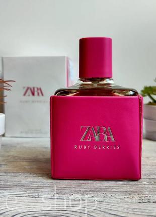 Zara ruby berries духи парфюмерия туалетная вода оригинал испания