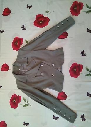 Костюм женский деловой серый в мелкую клетку пиджак юбка купить киев