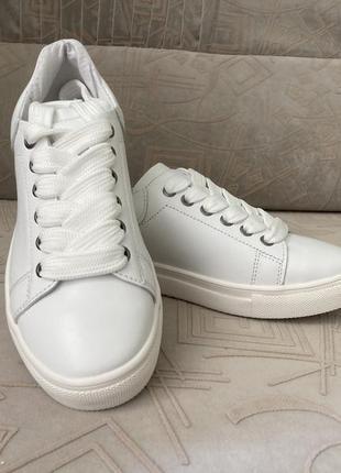 Белые кеды кроссовки 32-41размеры5 фото