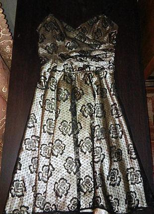 Шикарное золотое платье от d.f.l collection ( defile lux)