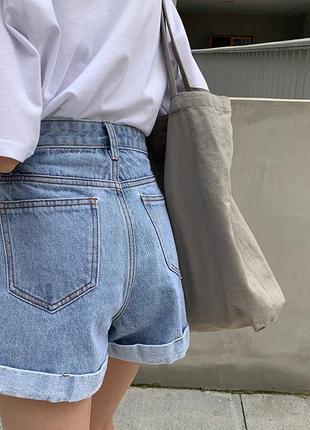 Супер модные джинсовые шорты