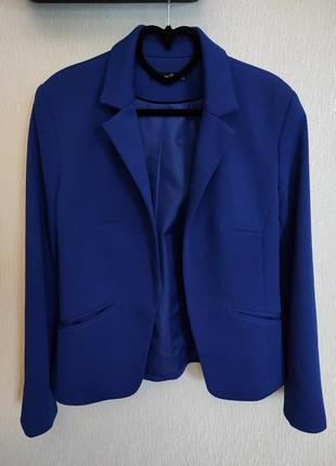 Синий пиджак atmosphere